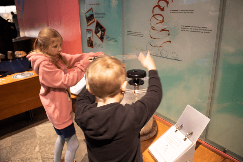 hands-on geology at the natural history museum one of the best museums for kids in london