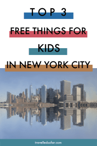 Top 3 free things for kids in new york city