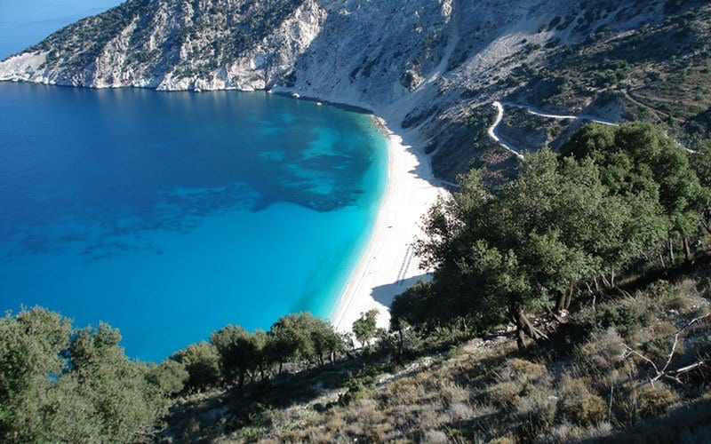 best beaches on kefalonia with kids