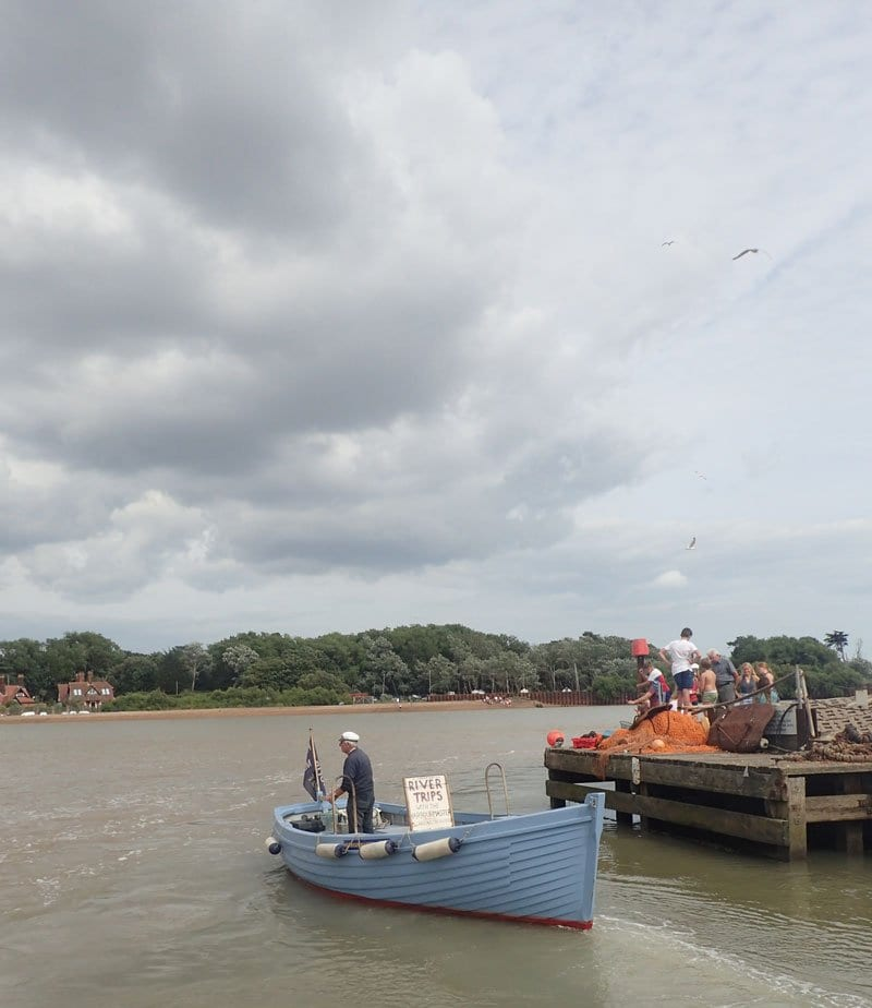 Felixstowe Foot Ferry over to Bawdsey across the River Deben
