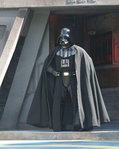 Darth Vadar at the Jedi Training Academy Walt Disney World Hollywood Studios