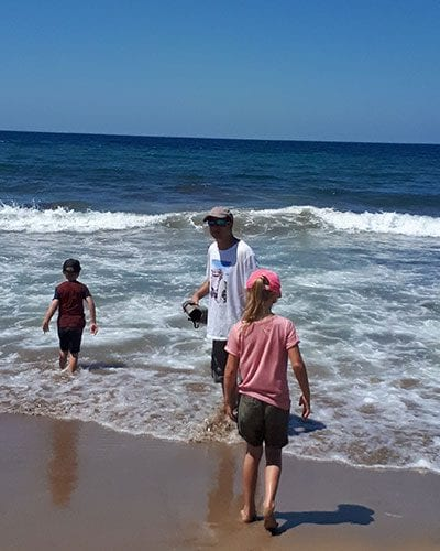 Lara beach with kids on Cyrpus. Learning about sea turtles and getting away from the crowds