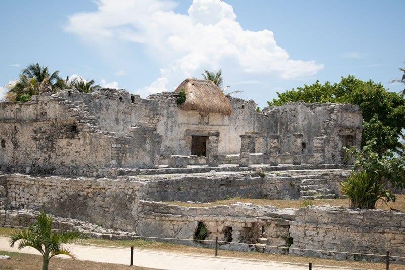 ruins at tulum mexico